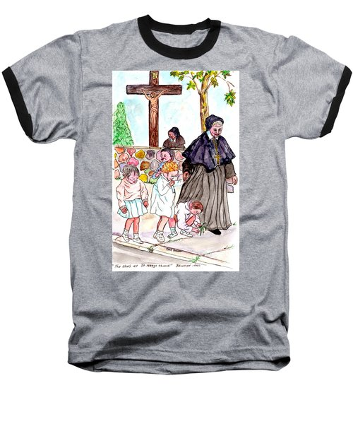 The Nuns Of St Marys Baseball T-Shirt