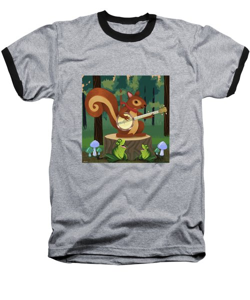 The Nutport Croak Music Festival Baseball T-Shirt