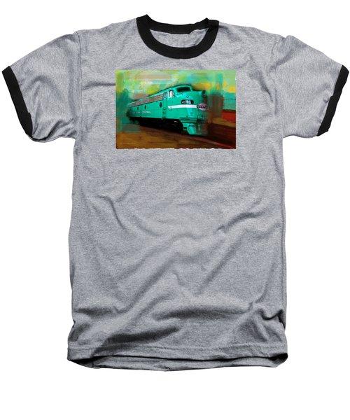 Flash II  The Ny Central 4083  Train  Baseball T-Shirt