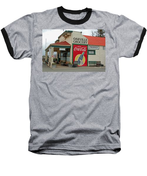 The Oakville Grocery Baseball T-Shirt by Suzanne Gaff