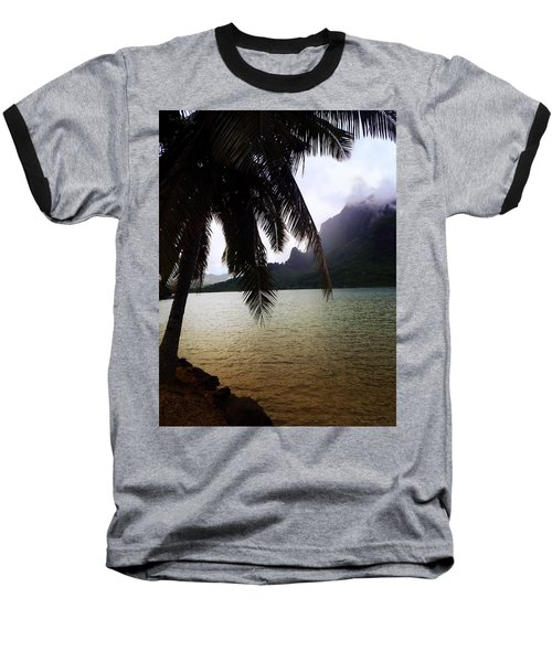 The Ocean In Moorea Baseball T-Shirt