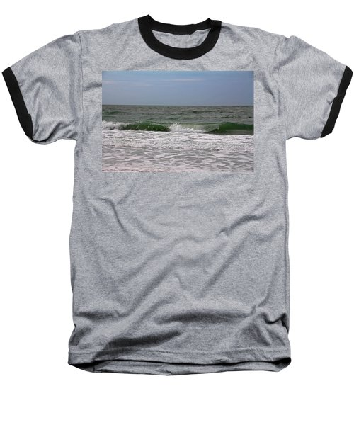 The Ocean In Motion Baseball T-Shirt