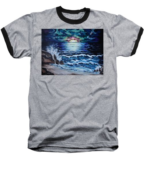 The Ocean Sings The Sky Listens Baseball T-Shirt