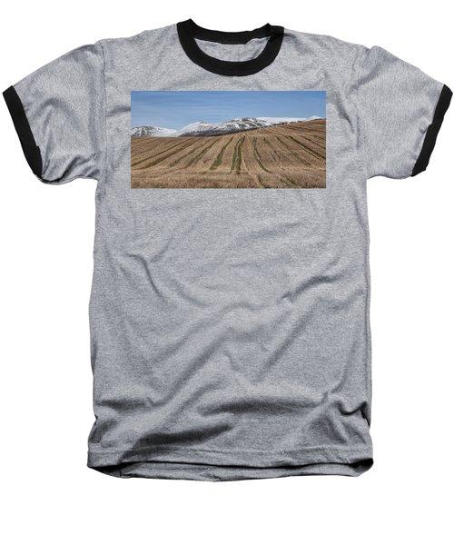 The Ochil Hills In Clackmannanshire Baseball T-Shirt