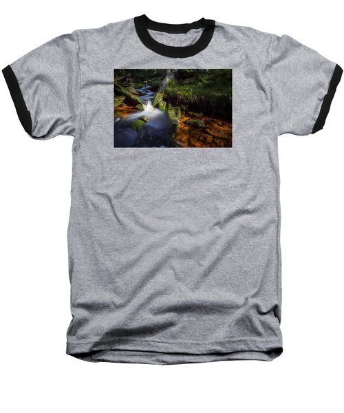 the Oder in the Harz National Park Baseball T-Shirt by Andreas Levi