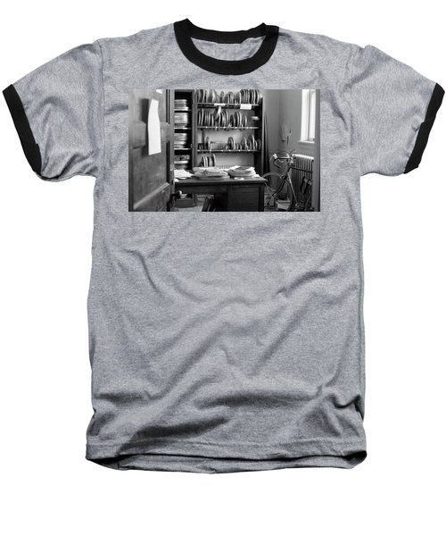 The Office Of A Teaching Assistant, 1979 Baseball T-Shirt