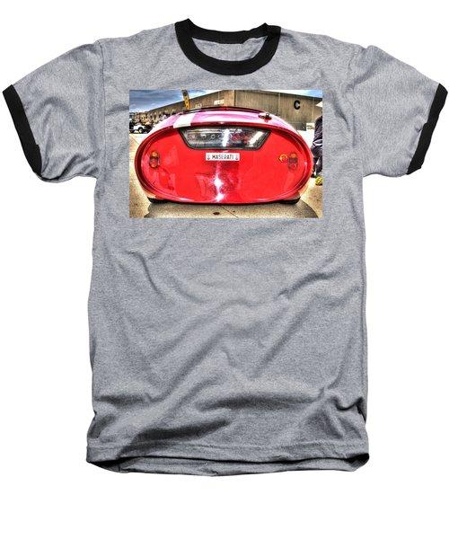 The Oil Drum Baseball T-Shirt by Josh Williams