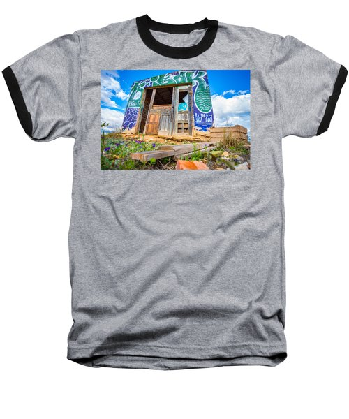 The Old Abode. Baseball T-Shirt