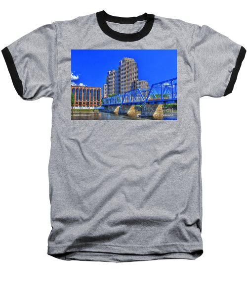 The Old Blue Bridge Baseball T-Shirt