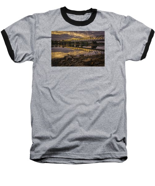 Underwater Bridge Baseball T-Shirt