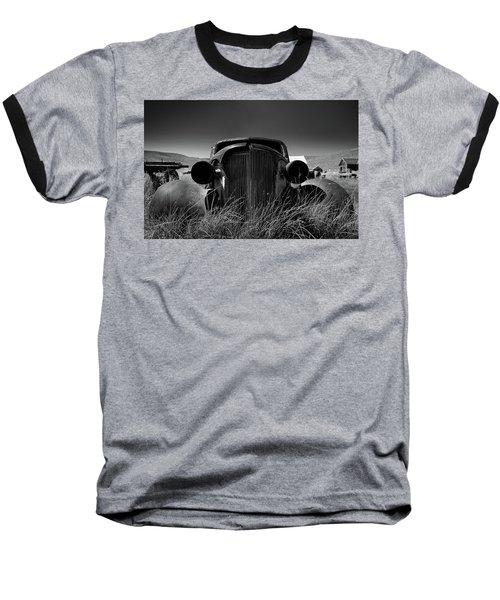 The Old Buick Baseball T-Shirt by Marius Sipa