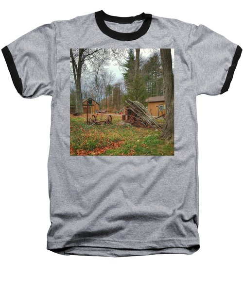 The Old Field Tools Baseball T-Shirt