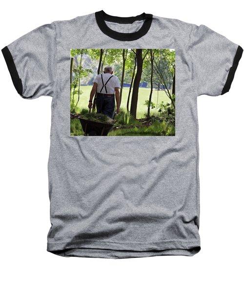 The Old Gardener Baseball T-Shirt