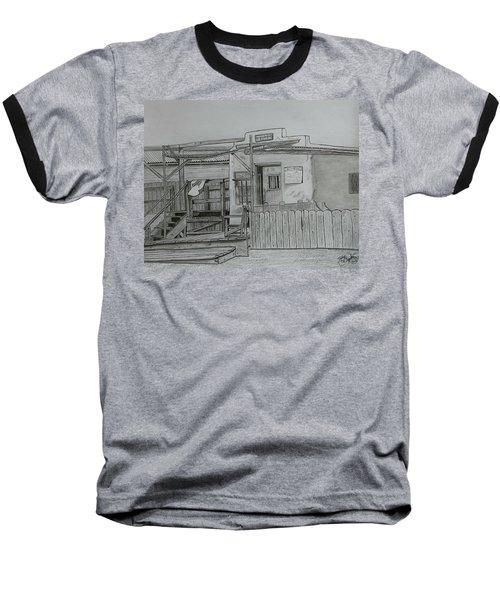 The Old  Jail  Baseball T-Shirt by Tony Clark