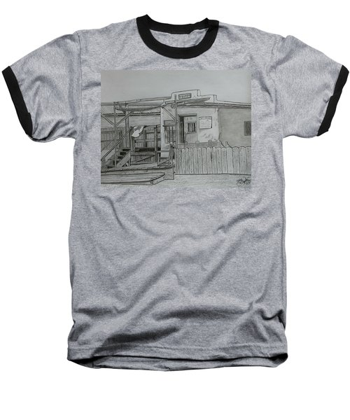 The Old  Jail  Baseball T-Shirt