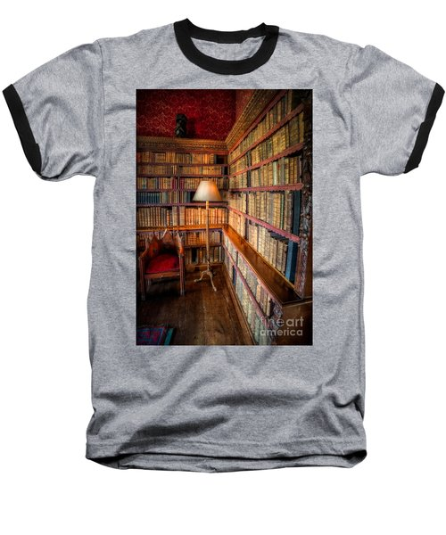 The Old Library Baseball T-Shirt