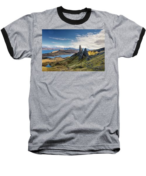 The Old Man Of Storr Baseball T-Shirt