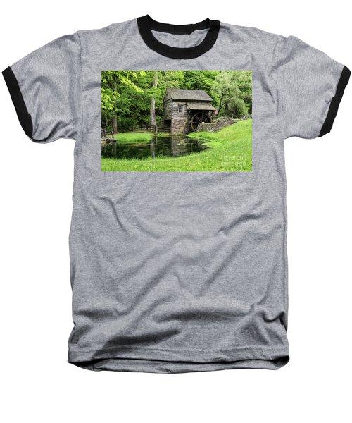 The Old Mill Baseball T-Shirt by Nicki McManus