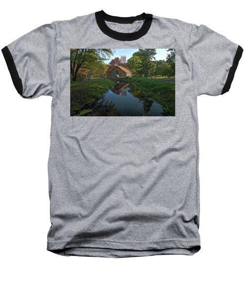 The Old Mill Baseball T-Shirt by Stephen Flint