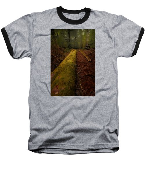 The Old Mossy Trunk Baseball T-Shirt