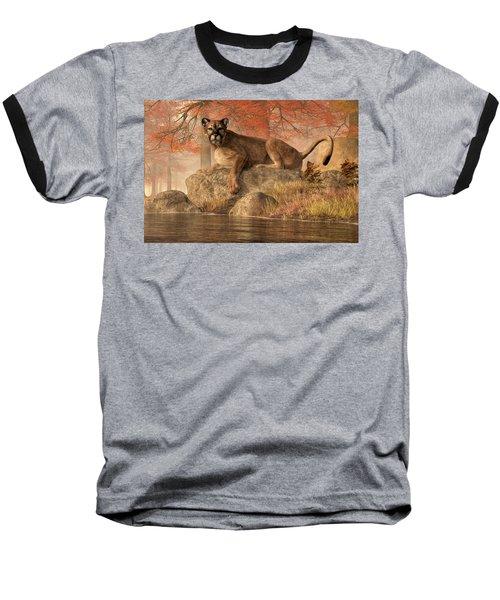 The Old Mountain Lion Baseball T-Shirt
