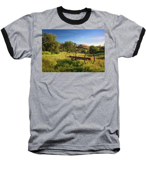 The Old Mower 1 Baseball T-Shirt