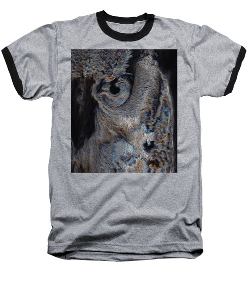 The Old Owl That Watches Baseball T-Shirt by ISAW Gallery