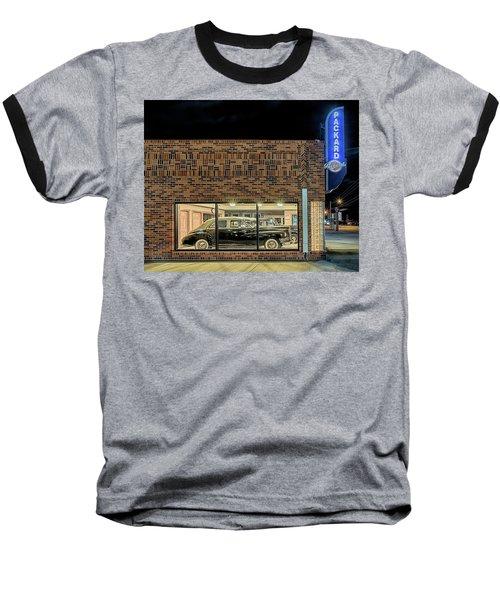 The Old Packard Dealership Baseball T-Shirt