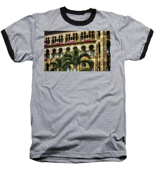 The Old Railway Station Baseball T-Shirt