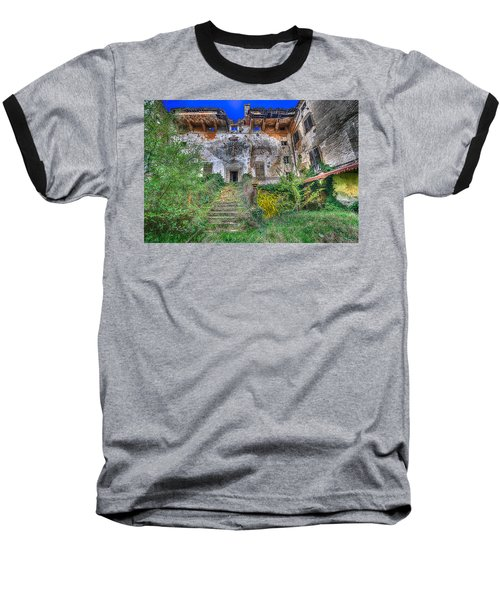 The Old Ruined Castle Baseball T-Shirt