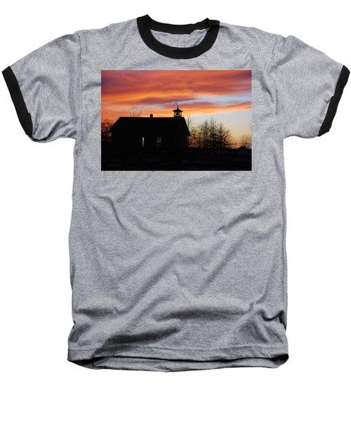 The Old Schoolhouse Baseball T-Shirt