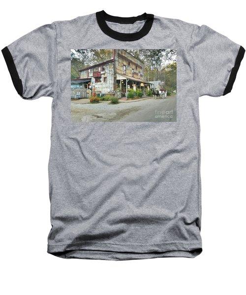 The Old Story Inn 1851 Nashville Indiana - Original Baseball T-Shirt by Scott D Van Osdol