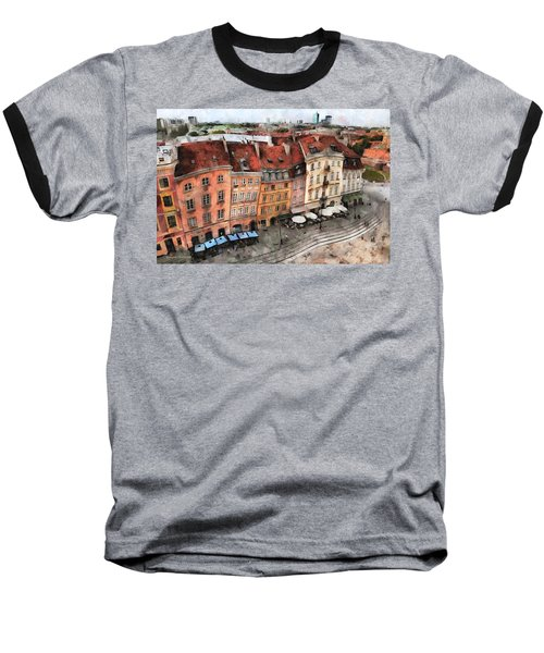 Old Town In Warsaw # 20 Baseball T-Shirt