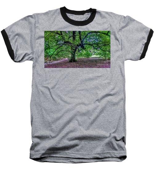 The Old Tree At Frelinghuysen Arboretum Baseball T-Shirt