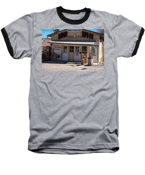 Old Vigil Store In Chimayo Baseball T-Shirt