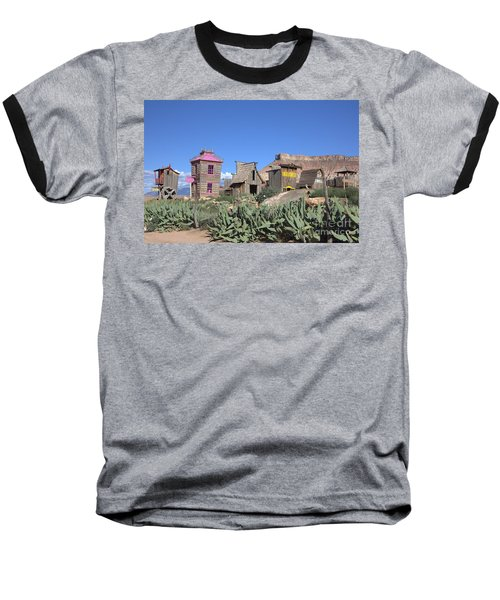 The Old Western Town  Baseball T-Shirt