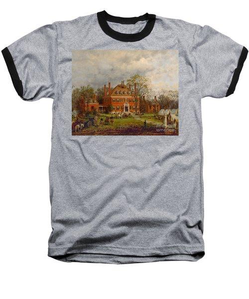 The Old Westover House Baseball T-Shirt