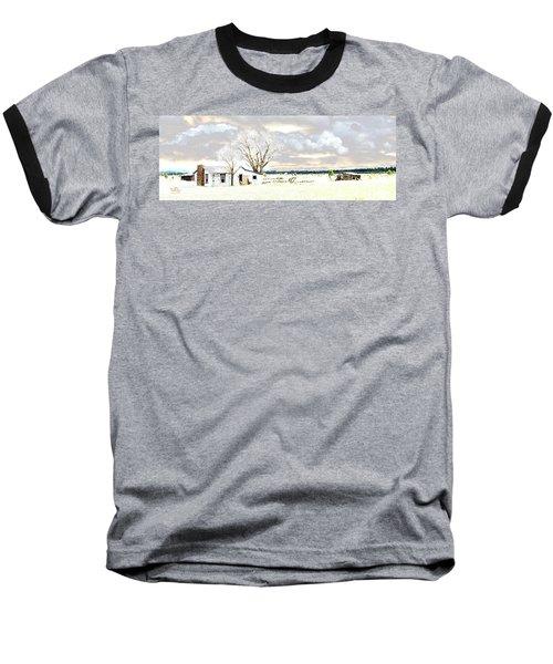 The Old Winter Homestead Baseball T-Shirt