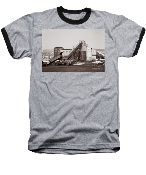The Olyphant Pennsylvania Coal Breaker 1971 Baseball T-Shirt