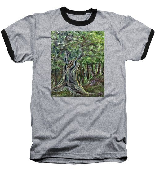 The Om Tree Baseball T-Shirt