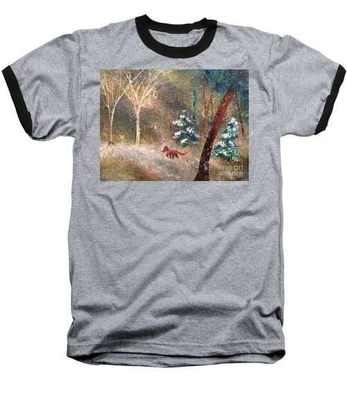 The Onion Snow Baseball T-Shirt