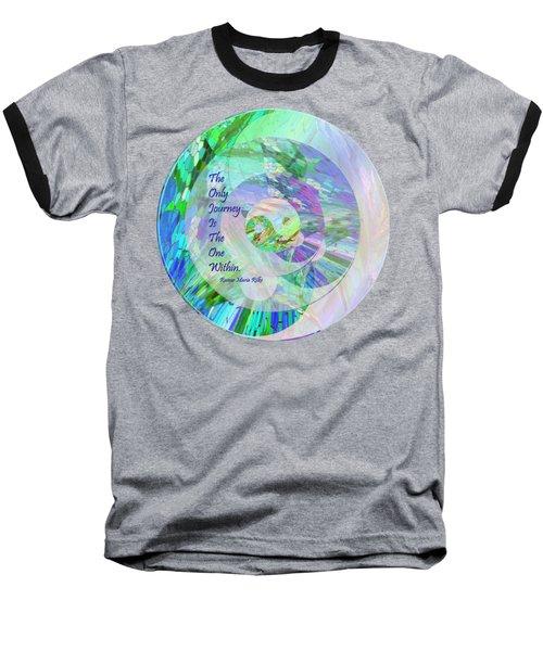The Only Journey Baseball T-Shirt by Michele Avanti