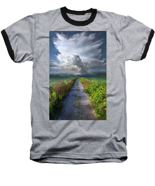 Baseball T-Shirt featuring the photograph The Only Way In by Phil Koch