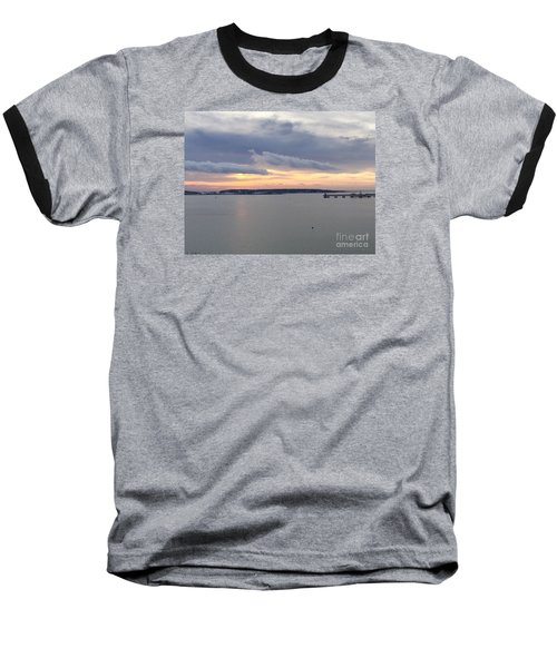 The Opalescent Sunrise Is Unfurled Baseball T-Shirt by Patricia E Sundik
