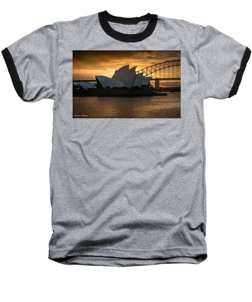 Baseball T-Shirt featuring the photograph The Opera House by Andrew Matwijec