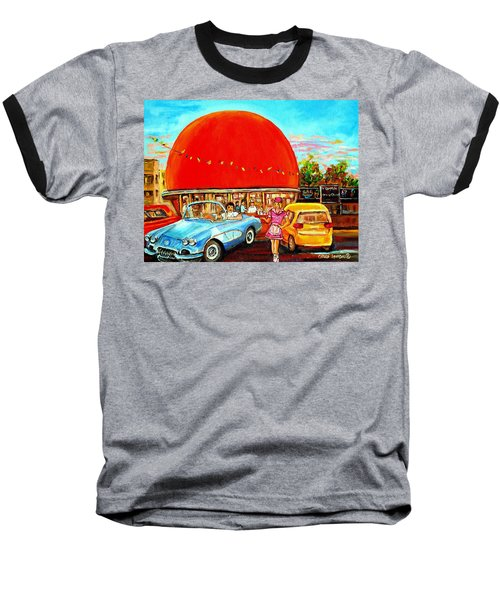 The Orange Julep Montreal Baseball T-Shirt