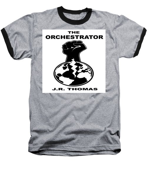 Baseball T-Shirt featuring the digital art The Orchestrator Cover by Jayvon Thomas