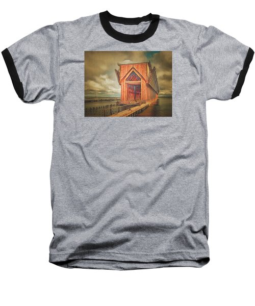 Baseball T-Shirt featuring the photograph The Ore Is Gone Redux by MJ Olsen