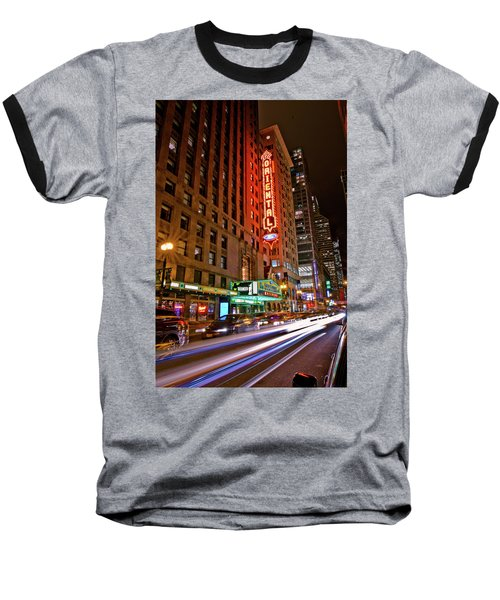 The Oriental Theater Chicago Baseball T-Shirt