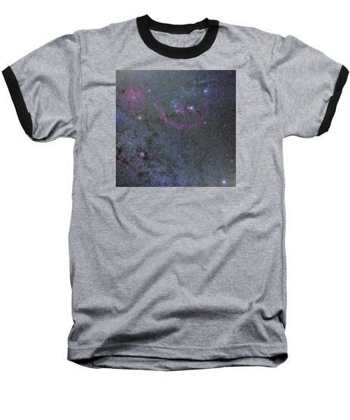 Baseball T-Shirt featuring the photograph The Orion Complex by Charles Warren